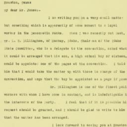 Letter : 1928 May 29