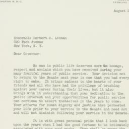 Telegram : 1956 August 23