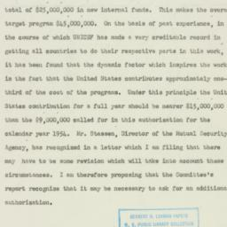 Speech : 1953 May 14