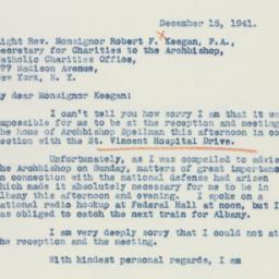 Letter : 1941 December 15