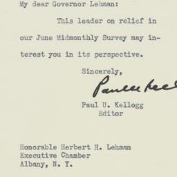 Letter : 1933 June 9