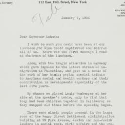 Letter : 1936 January 7