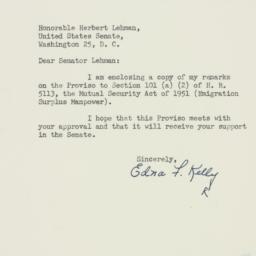Letter : 1951 August 22