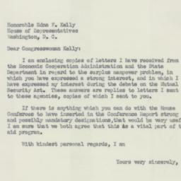 Letter : 1951 September 26