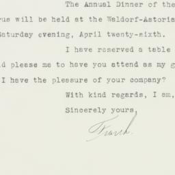 Letter : 1941 April 1