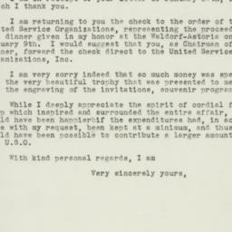 Letter : 1943 January 29