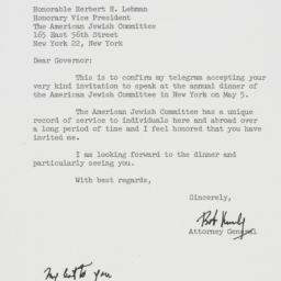 Letter : 1962 March 17
