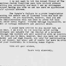Letter : 1962 May 21