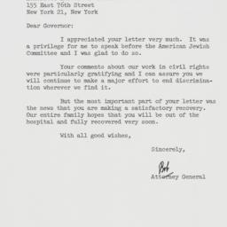 Letter : 1962 May 28