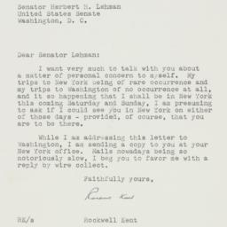 Letter : 1952 June 24