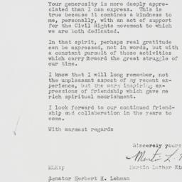 Memorandum : 1958 October 24