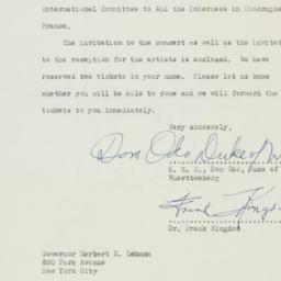 Letter : 1941 February 28