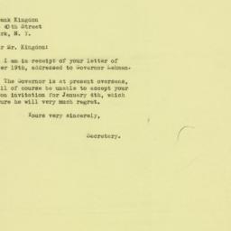 Letter : 1944 December 21