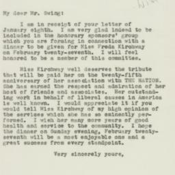 Letter: 1944 January 11