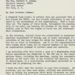 Letter : 1946 January 29