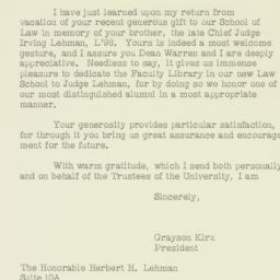 Letter: 1961 September 12