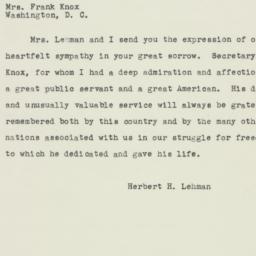 Letter : 1944 April 30