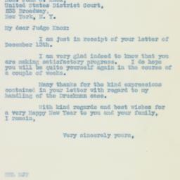 Letter: 1935 December 16