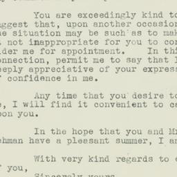 Letter : 1939 June 29