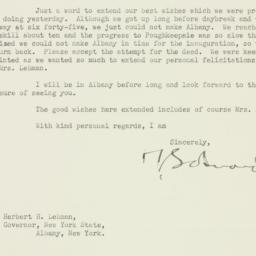 Letter : 1935 January 2