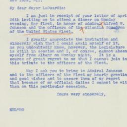 Letter: 1939 April 27