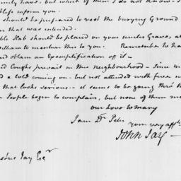 Document, 1814 March 22