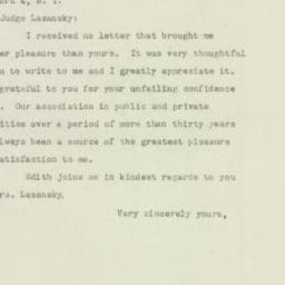 Letter : 1949 September 10