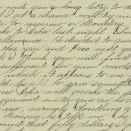 Letter : 1895 September 27