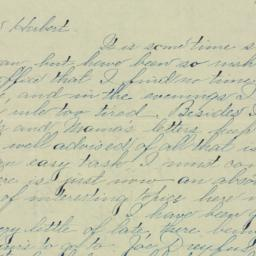 Letter : 1895 November 16