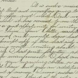 Letter : 1898 January 20