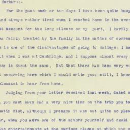 Letter : 1898 April 27