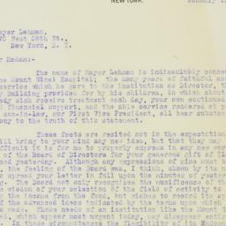 Letter : 1912 January 15