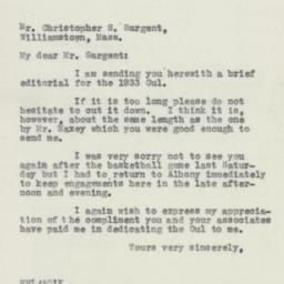 Press Release: 1932 Februar...