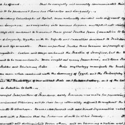 Document, 1822 May 09