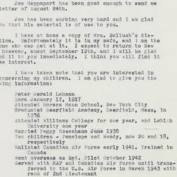 Manuscript: 1960 August 30