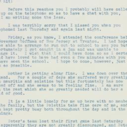 Letter : 1935 October 15