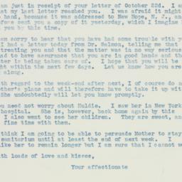 Letter : 1935 October 24