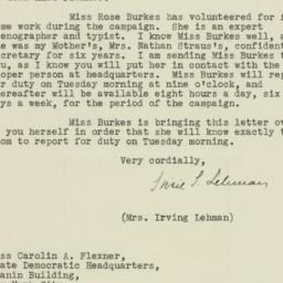 Letter : 1932 October 8