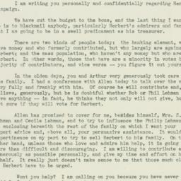 Letter: 1936 September 28