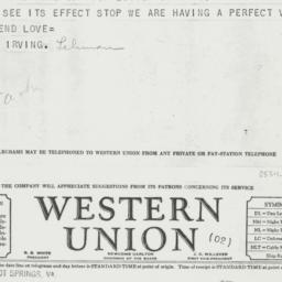 Letter: 1937 July 20