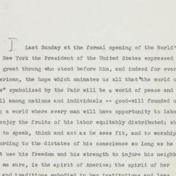 Invitation: 1939 May 5