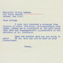Letter: 1939 September 26