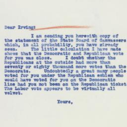 Invitation: 1939 December 15