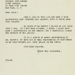 Letter : 1946 November 11
