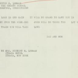 Letter : 1934 February 16