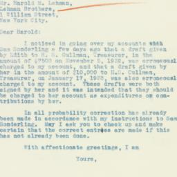 Letter : 1933 March 2