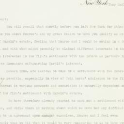 Letter: 1934 January 2