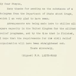 Invitation: 1943 April 15