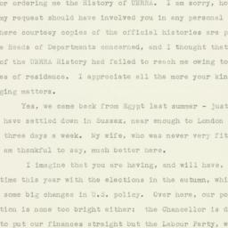 Letter : 1952 May 6