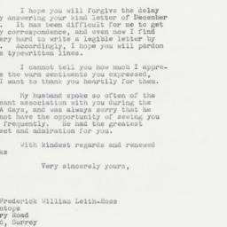 Letter : 1964 January 11